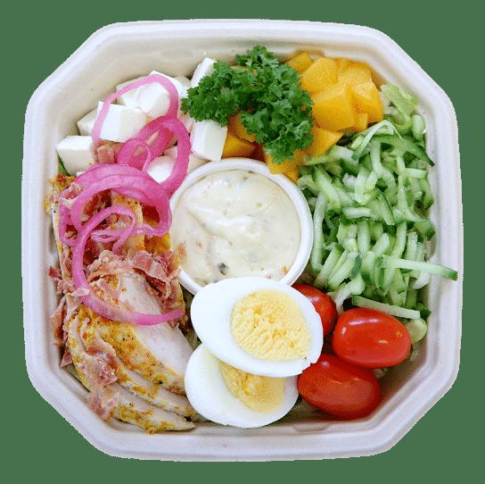 Kana-pekonisalaatti